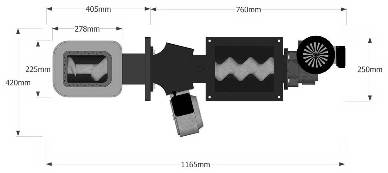 Hořák Batory – 40 – malá tryska (kulatá)